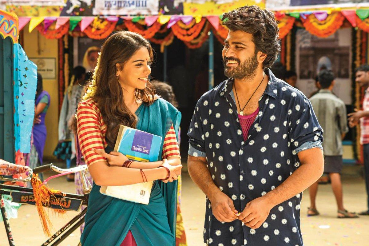 Sharwanand with Kalyani Priyadarshan in Ranarangam Movie