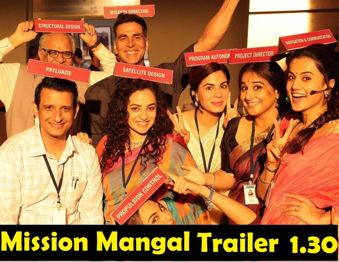 mission mangal team show their characters in movie