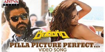 Pilla Picture Perfect song video   Ranarangam songs