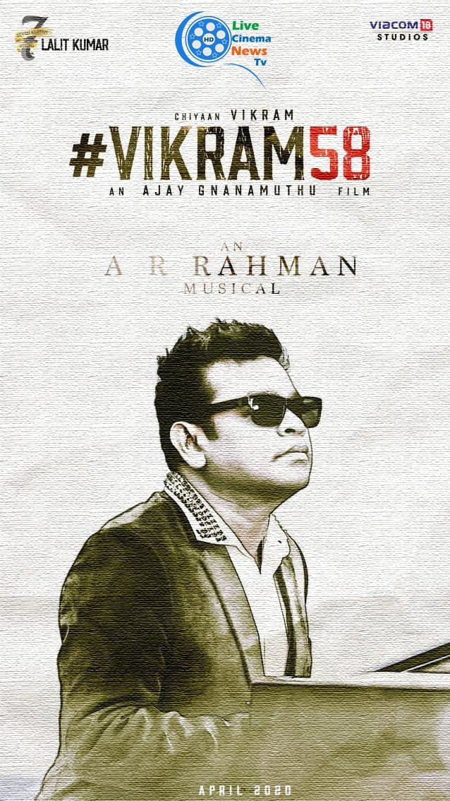 vikram new film #chiyaanvikram58
