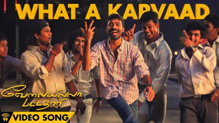 What A Karvaad Song Video   Velai Illa Pattadhaari Songs