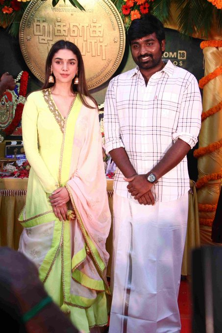 Vijay Sethupathy and Aditi Rao