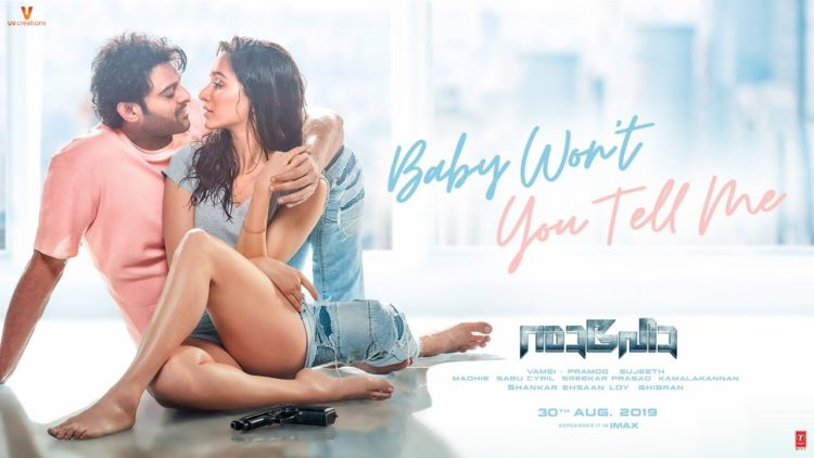 Baby Won't You Tell Me Song Teaser   Saaho Malayalam Movie songs