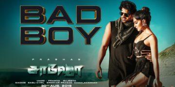 Bad Boy Tamil Song Video | Saaho Songs