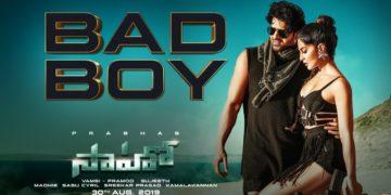 Bad Boy Telugu Song Video | Saaho Songs