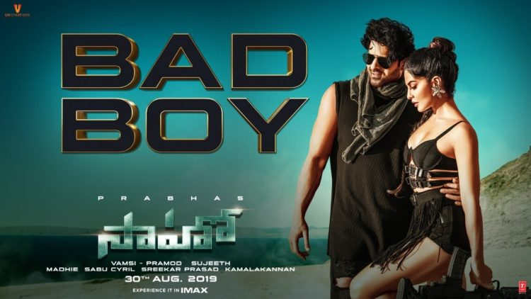 Bad Boy Telugu Song Video | Saaho Songs