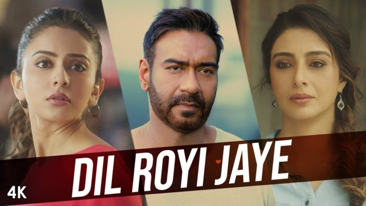 Dil Royi Jaye song video – De De Pyaar De movie songs