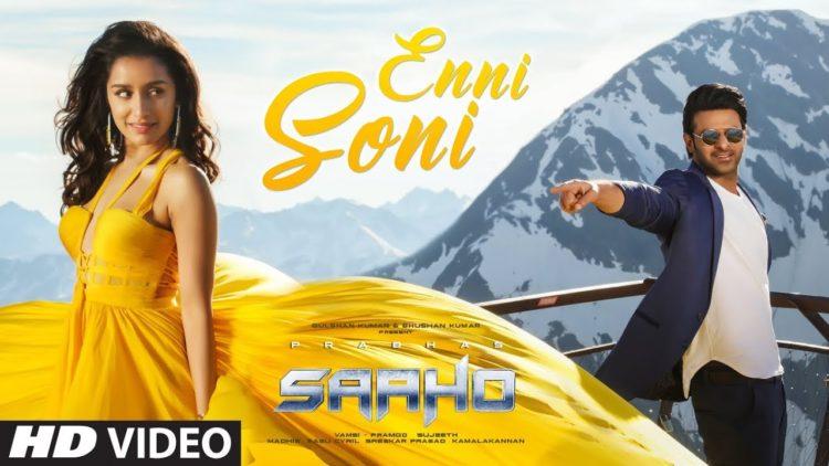 Enni soni song video | Saaho movie songs