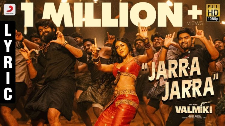Jarra Jarra Song Lyric video | Valmiki movie songs