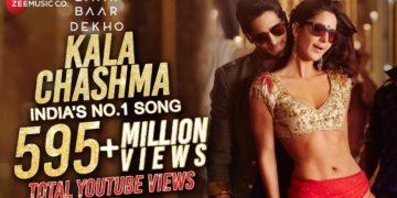 kala chashma song – baar baar dekho movie songs