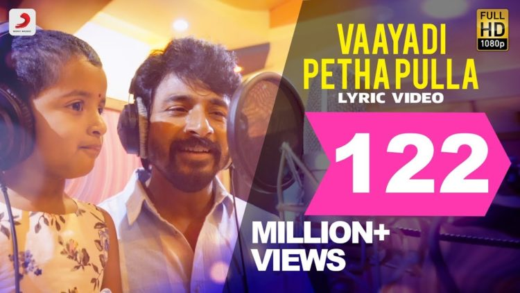 Kanaa – Vaayadi petha pulla lyric video