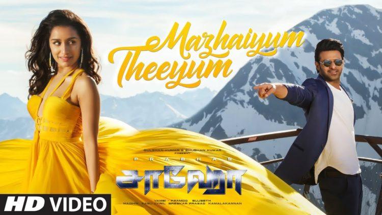 Mazhaiyum theeyum song video | Saaho movie songs