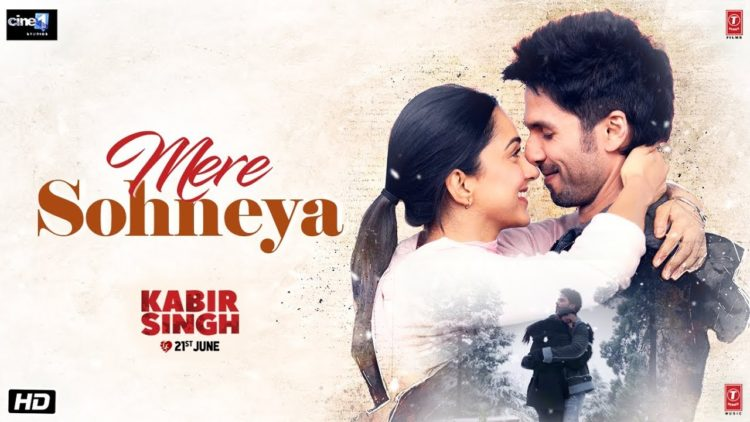 Mere Sohneya Song video – Kabir Singh songs
