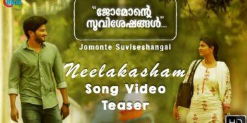 Neelakasham song video teaser | Jomonte suviseshangal movie video songs