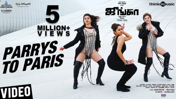 Parrys to paris full video song | Junga songs