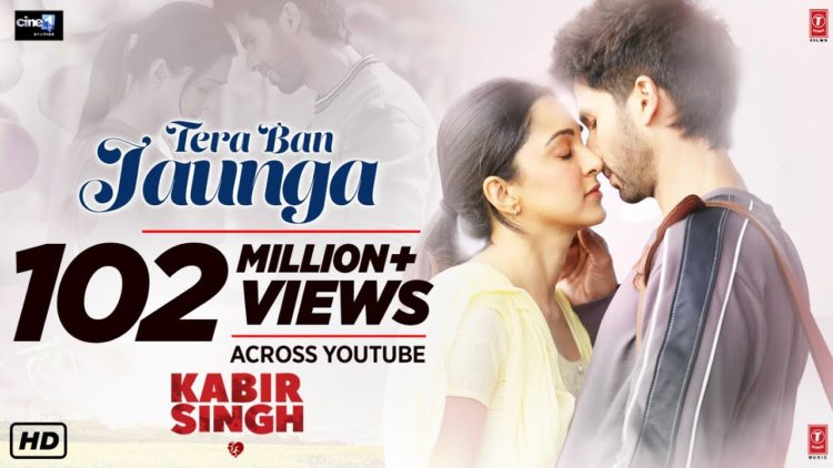 Tera Ban Jaunga song video – Kabir Singh songs