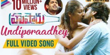 Undiporaadhey Full Video Song 4K | Husharu Latest Telugu Movie Songs