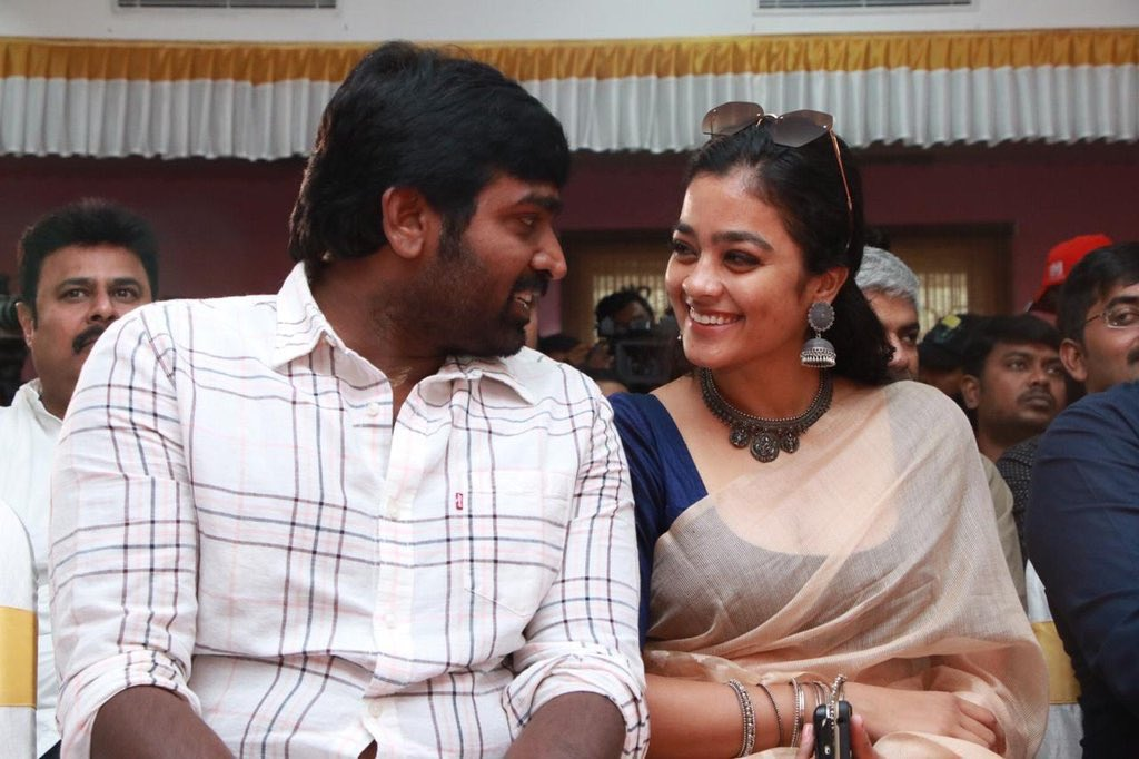 vijay sethupathy and Gayathrie