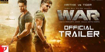 War Hindi Trailer