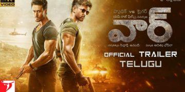 War Telugu trailer