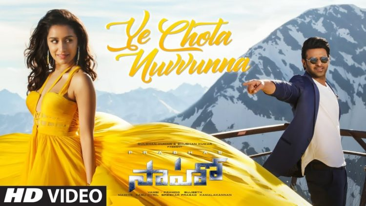 Ye chota nuvvunna song video | Saaho songs