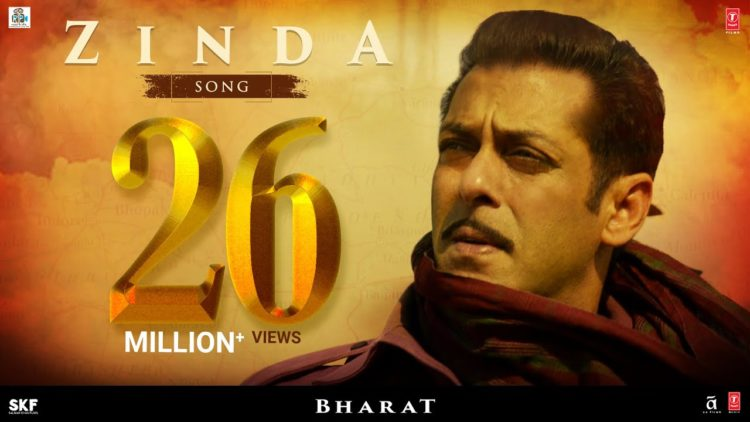 Zinda song video – Bharat songs