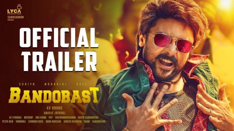 Bandobast|Trailer | Suriya, Mohan Lal, Arya