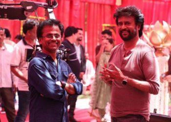 darbar shooting spot - Rajinikath and director Murugadoss