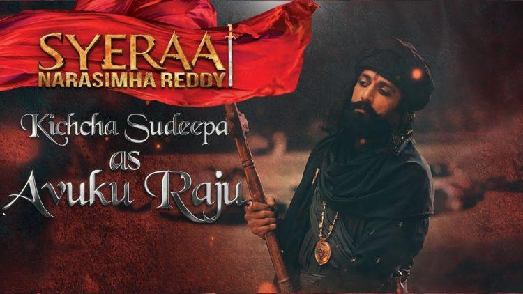 Kiccha Sudeep as Avuku Raju – Sye Raa Narasimha Reddy