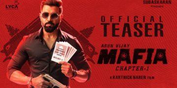 Mafia Teaser | Official | Arun Vijay, Prasanna, Priya Bhavani Shankar
