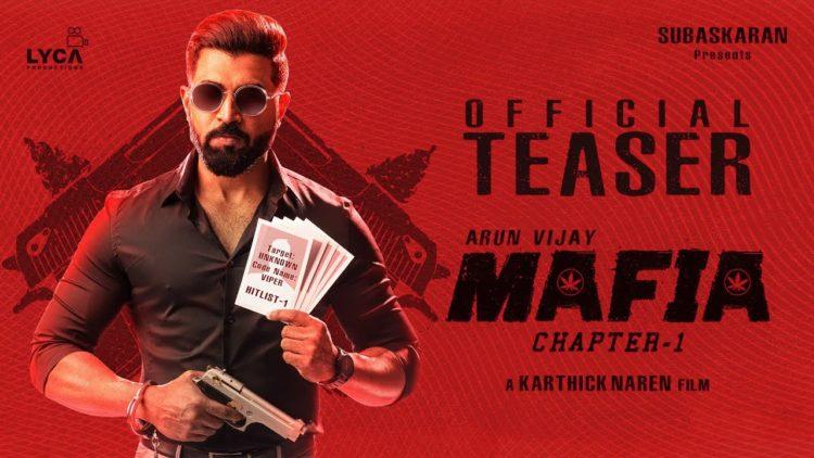 Mafia Teaser   Official   Arun Vijay, Prasanna, Priya Bhavani Shankar