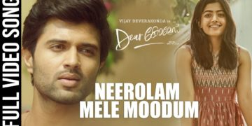 Neerolam Mele Moodum Song Video   Dear Comrade Songs