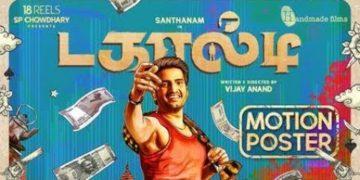Santhanam's Dagaalty Motion Poster