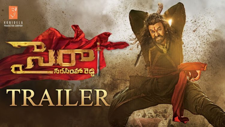 Sye Raa Telugu Trailer