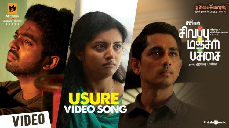 Usure Song Video   Sivappu Manjal Pachai Songs