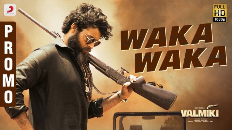 Waka Waka Song Promo | Valmiki Movie Songs