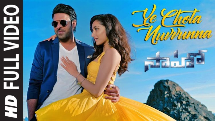 Ye Chota Nuvvunna Full video | Saaho Movie Songs