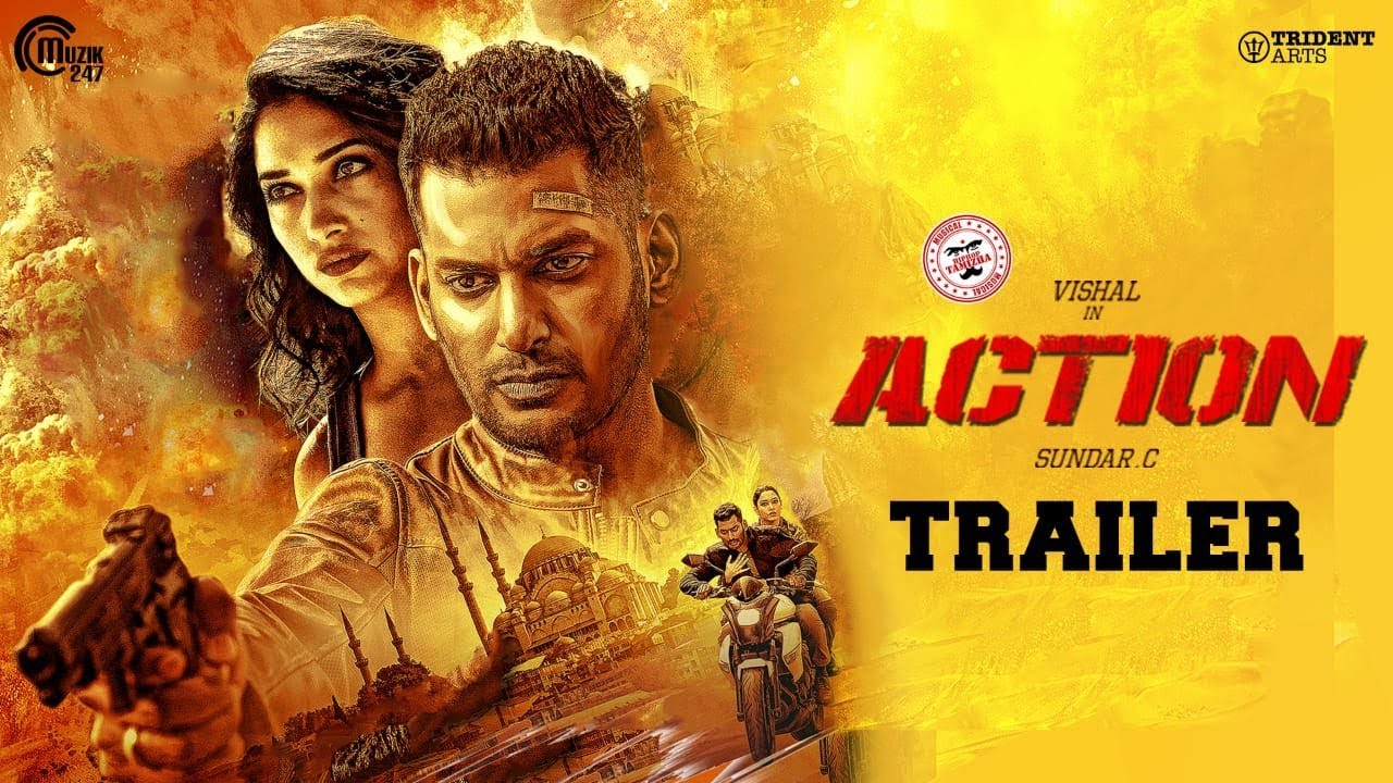 Action Tamil Movie Trailer