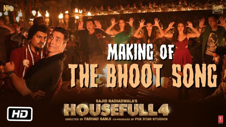 Housefull 4: The Bhoot Song Making