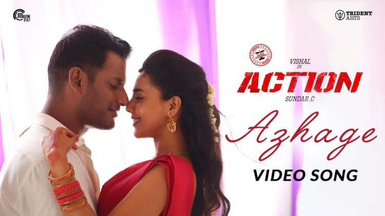 Azhage Video Song | Action Tamil Movie Songs