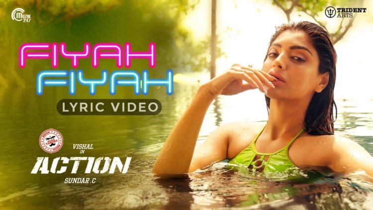 Fiyah Fiyah Lyric Video | Action Movie Songs