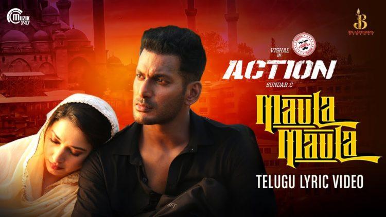 Maula Maula Telugu Lyric Video | Action Telugu Movie Songs
