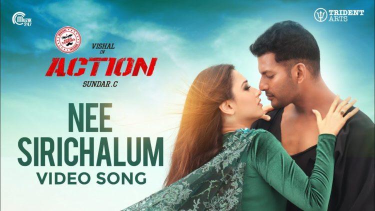 Nee Sirichalum Video Song | Action Movie Songs