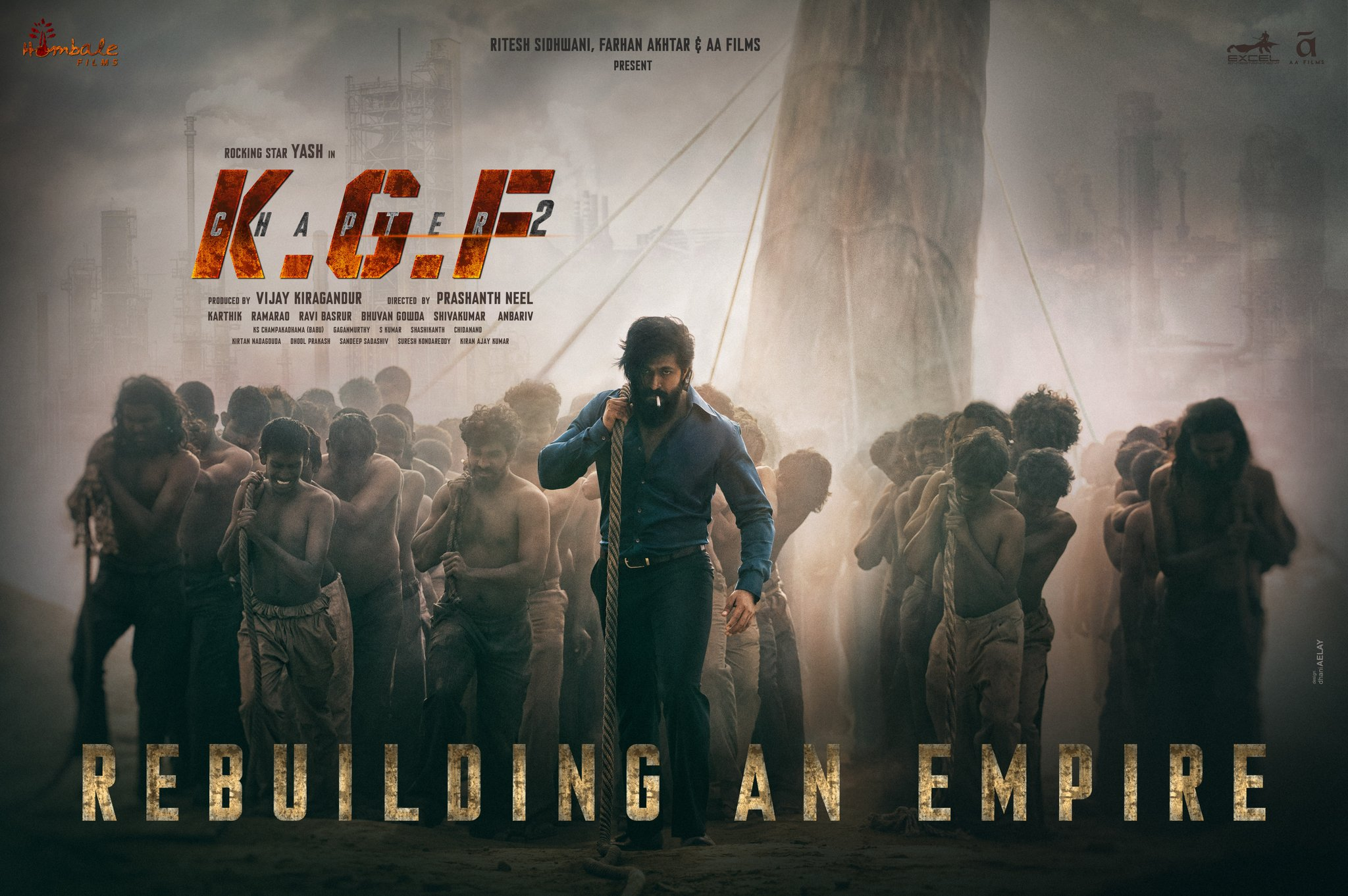 KGF Chapter 2 first look: Rocking Star Yash Is Back..