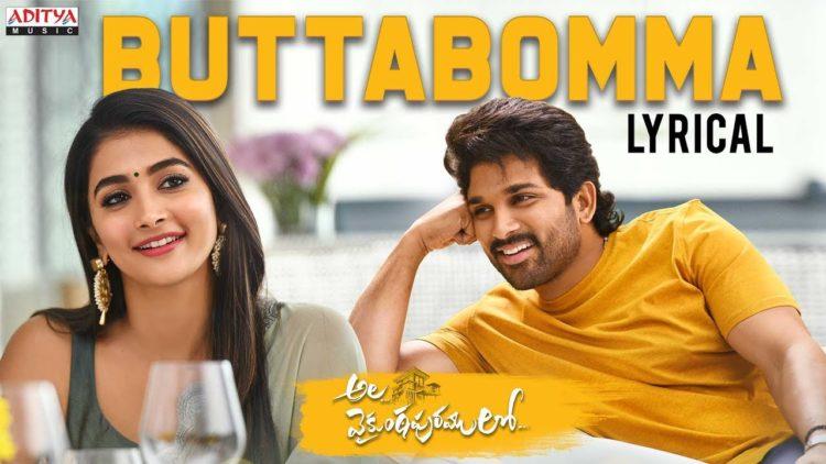 ButtaBomma song lyrical video | Ala vaikunthapurramuloo songs