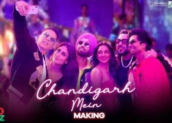 Chandigarh Mein Song Making Video | Good Newwz Latest video