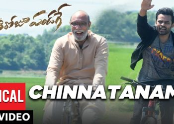 Chinnataname Telugu Lyrical Video | Prati Roju Pandaage Movie Songs