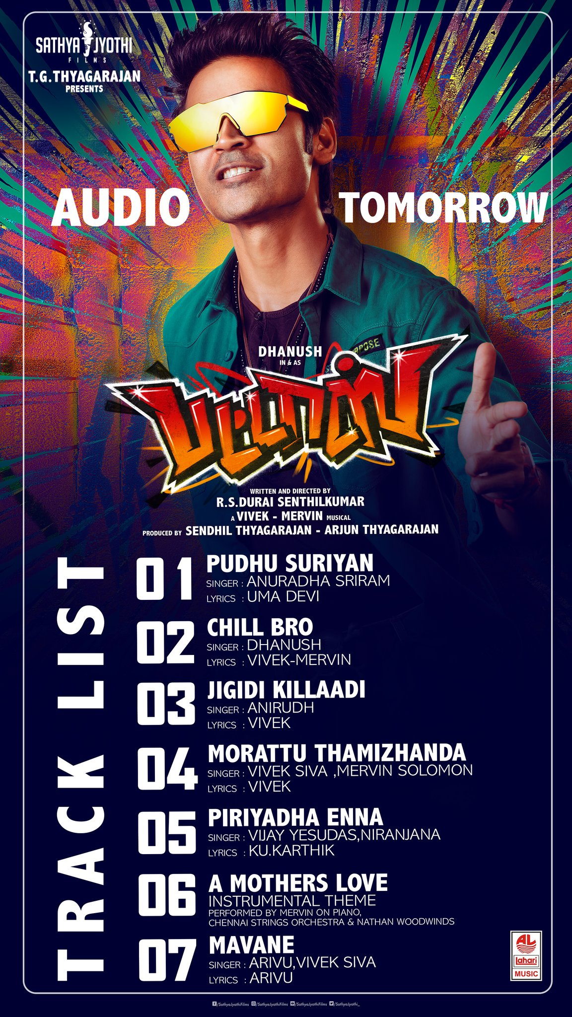 pattas song track list
