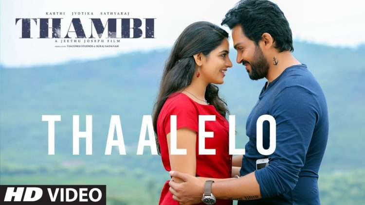 Thaalelo Video Song | Thambi Tamil Movie Songs