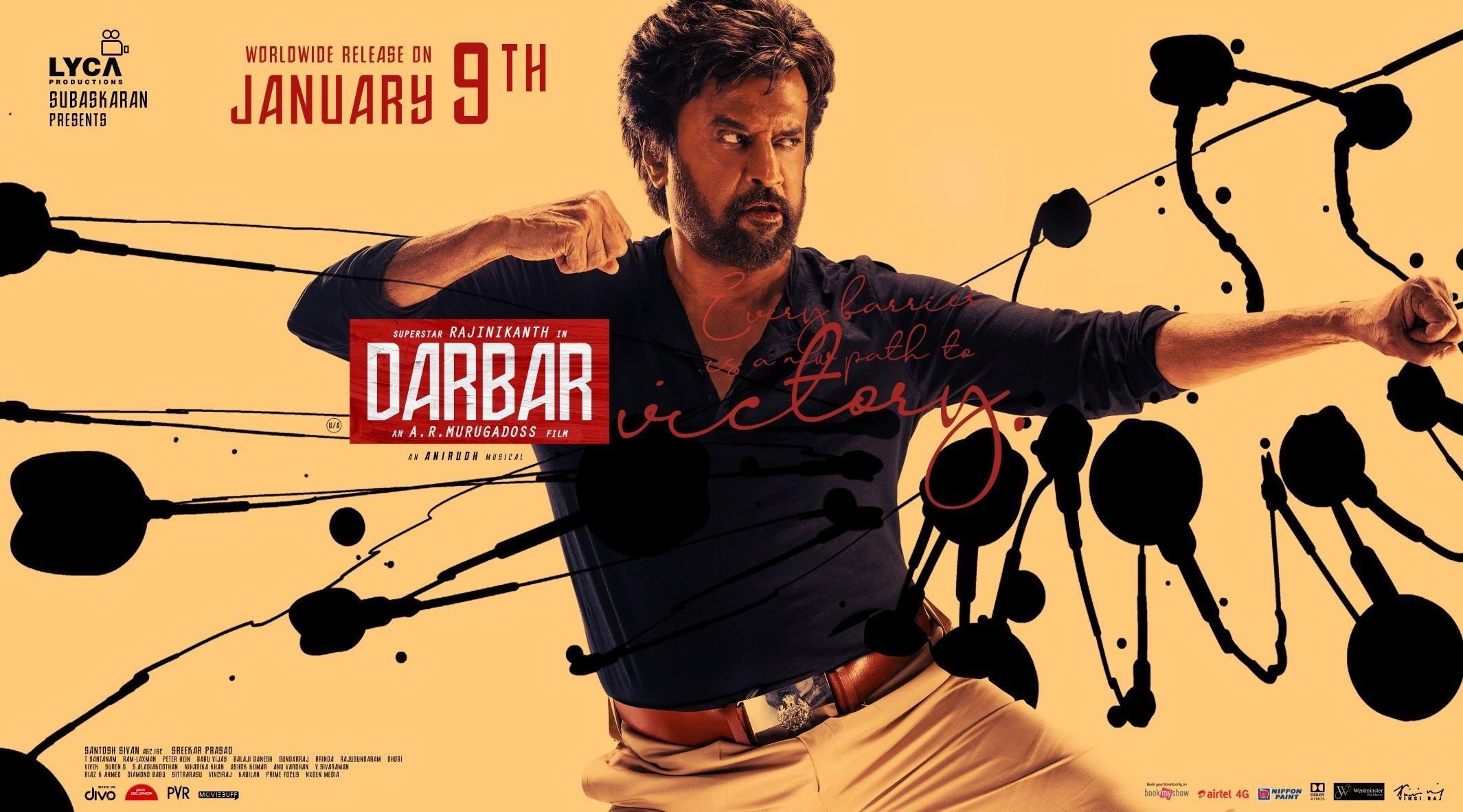 Darbar HD Poster